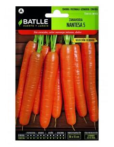 Zanahoria Nantesa 5 Sel....