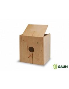 Nido madera para pájaros....